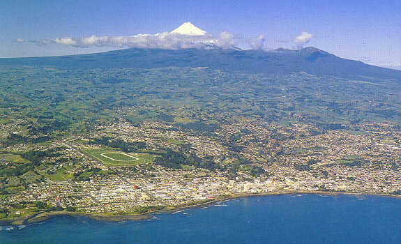 Aerial Photograph Of New Plymouth