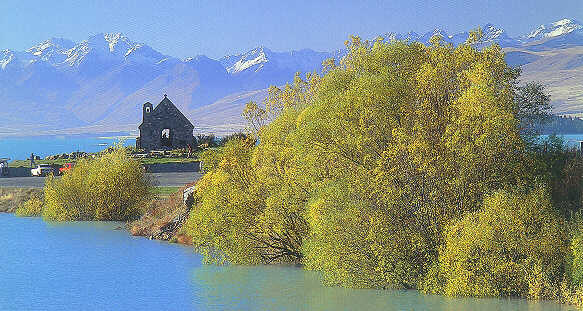 Photo Of Lake Tekapo Church