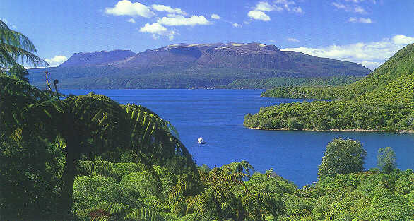 Photo Of Lake Tarawera